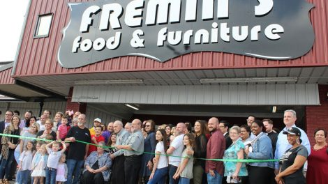 Fremin's ribbon cutting