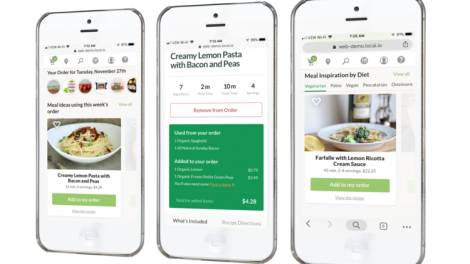 Locai's meal planning offering.
