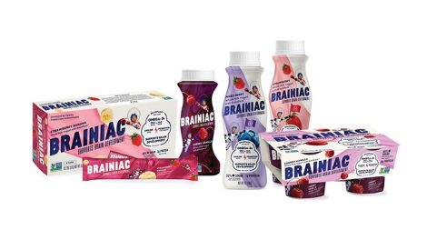 Brainiac Kids Yogurt nutrients