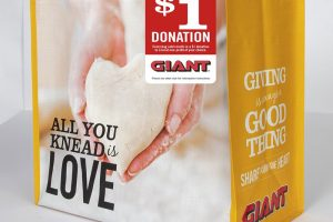 Giant Bags 4 My Cause