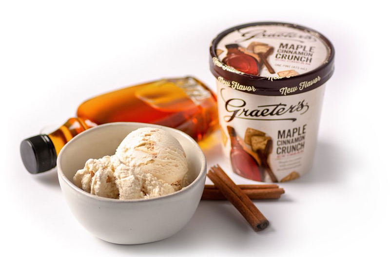Graeter's Ice Cream Maple Cinnamon Crunch