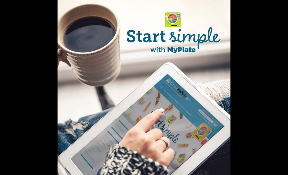 USDA Start Simple with MyPlate