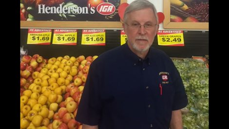 Henderson's IGA, Tim Henderson