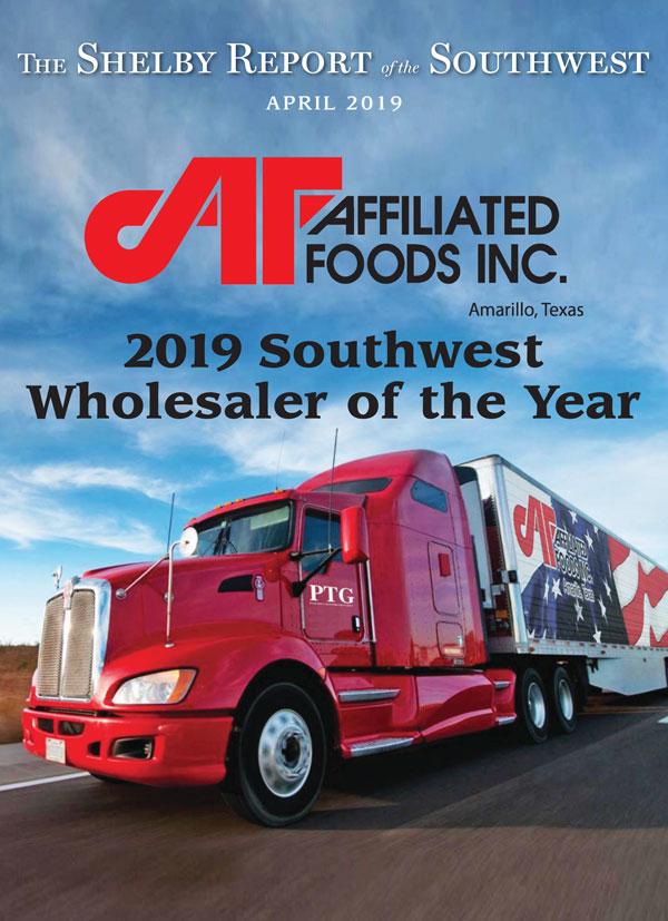 Affiliated Amarillo Wholesaler of the Year 2019