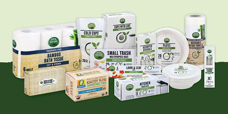 Albertsons Debuts Open Nature Compostable Sustainable Products