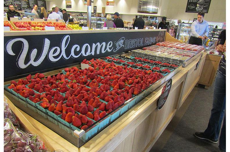 Bristol Farms new store berries