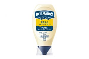 Hellmanns plastic bottle