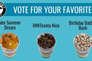 Vote for favorite flavor graphic