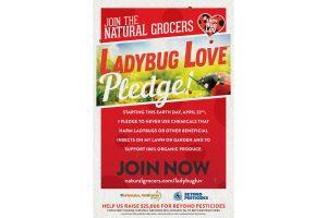 Natural Grocers ladybug pledge