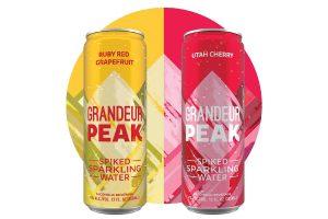 Grandeur Peak Spiked Sparkling Water