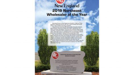 AGNE Wholesaler of Year 2019