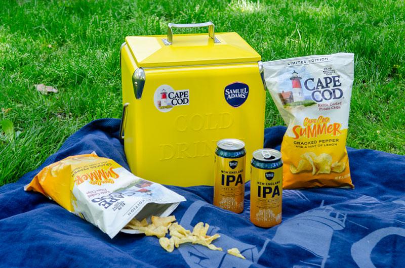 Cape Cod Potato Chips + Samuel Adams