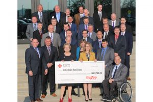 Hy-Vee donation flood relief