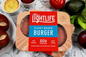 Lightlife Plant-Based Burger