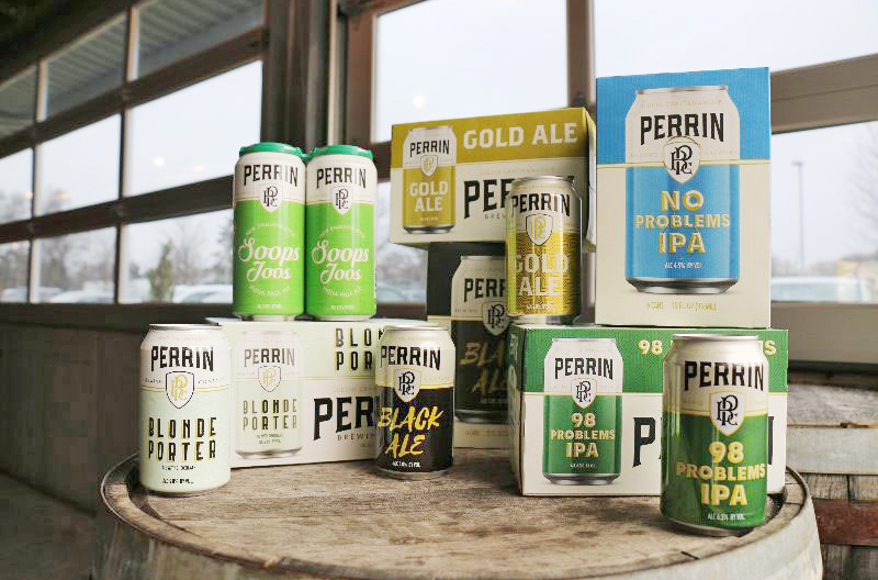 Perrin Brewing Co. new logo