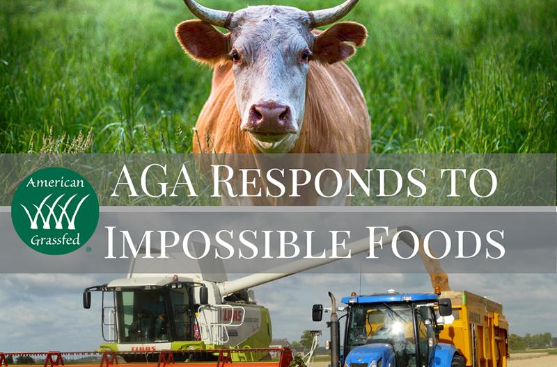 AGA refutes Impossible Foods claims