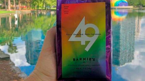 Barnie's 49 coffee