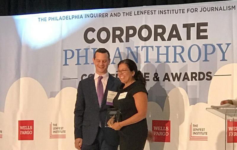 Wendy Zahradka award, Giant