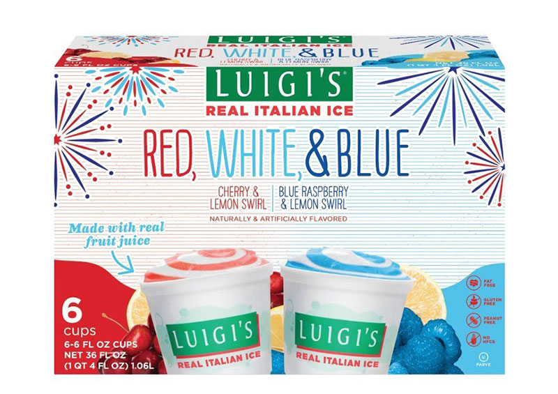 Luigi's Red White and Blue