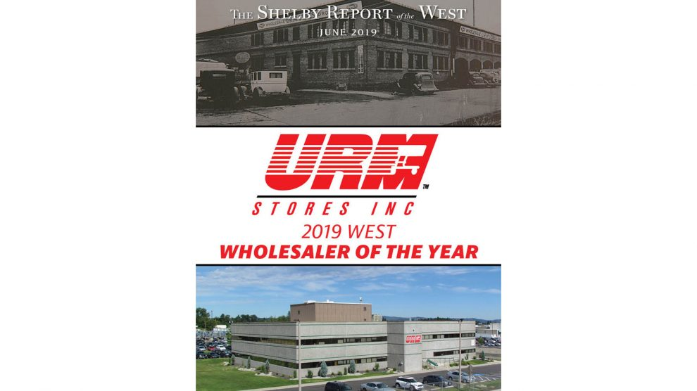 URM West Wholesaler of Year 2019