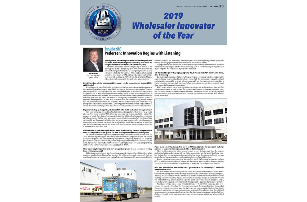 AWG Midwest Wholesale Innovator of Year 2019