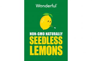 seedless lemons, Wonderful Co.