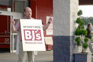 BJ's Detroit entry, ad campaign