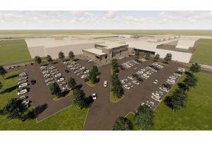 Ben E. Keith Foods new distribution center