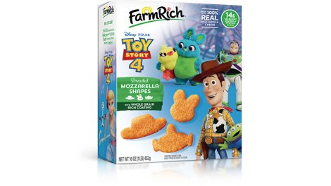 Toy Story 4 Mozzarella Shapes