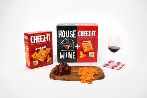 House Wine & Cheez-It box