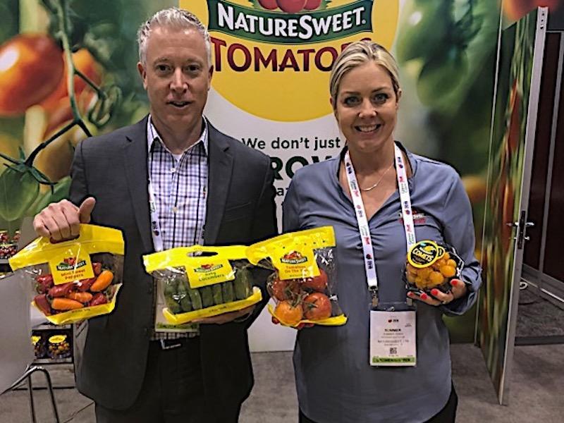 NatureSweet representatives