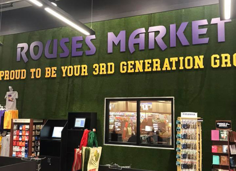 LSU + Rouses