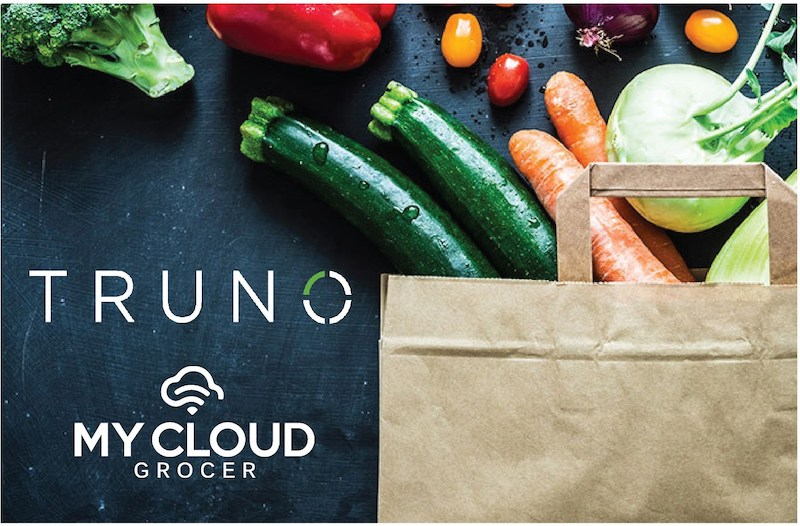 Truno My Cloud Grocer grocery bag
