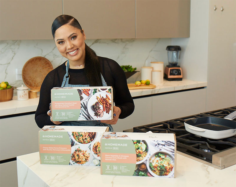 Ayesha Curry Homemade meal kits