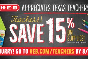 Teachers save 15 percent