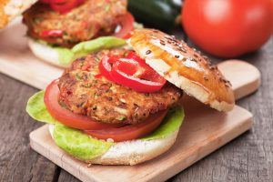meat substitutes, veggie burger
