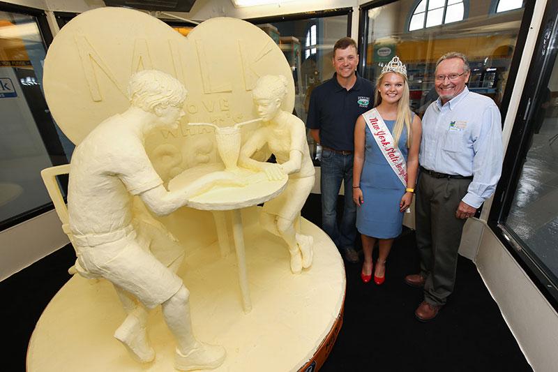 Butter Sculpture, American Dairy Association North East