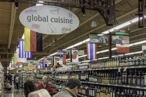 Ethnic foods aisle