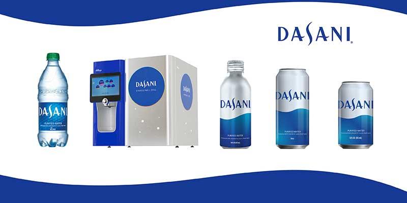 Dasani sustainable packaging