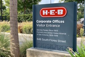 H-E-B corporate offices sign