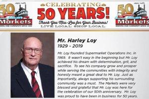 Harley Loy obituary