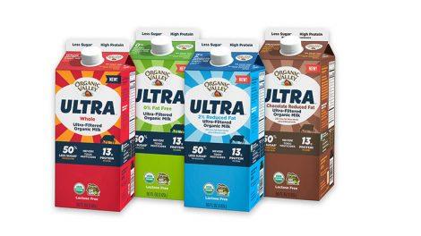 Organic Valley ultra filtered milk