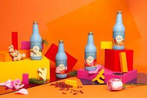 Sunwink Herbal Tonic Bottles