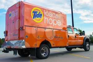 Tide Loads of Hope mobile laundry