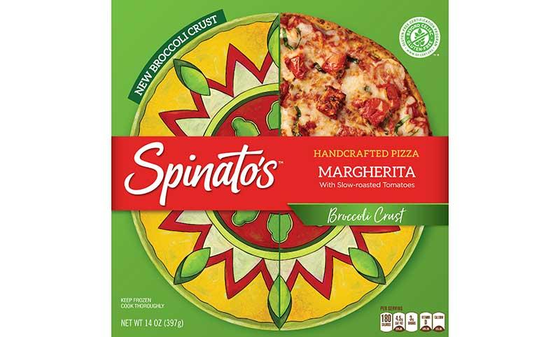 Spinato's Broccoli Crust Pizza
