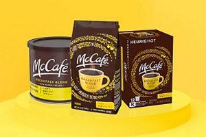 McCafe Coffee + KDP