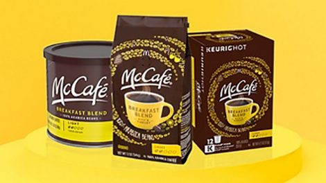 McCafe Coffee + KDP