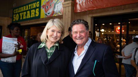 Martha Stewart + Stew Leonard Jr.