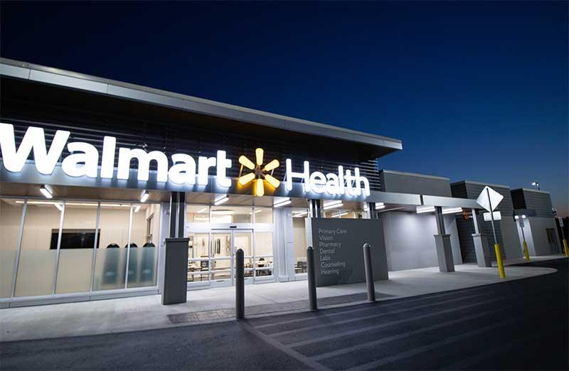 Walmart Health Center wellness event