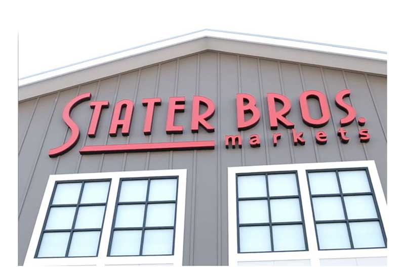 new logo, Stater Bros., Placentia